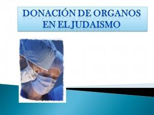 donacion de organos en el judaismo