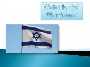historia sionismo