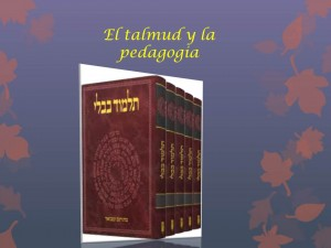 talmud y pedagogia