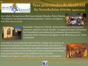 actividades de masuah elul
